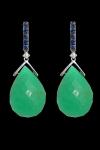 earrings chrysoprase